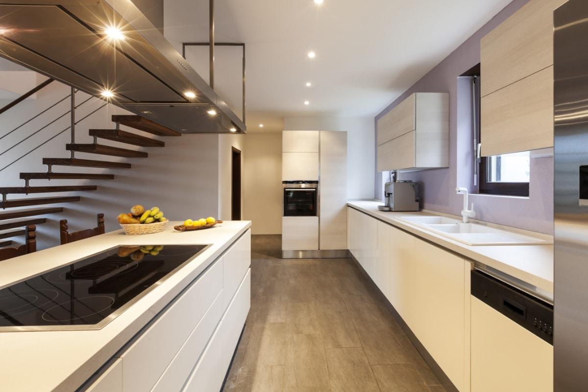 keukenindeling parallelle keuken