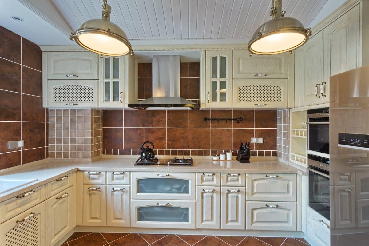 eiken keuken zandstralen